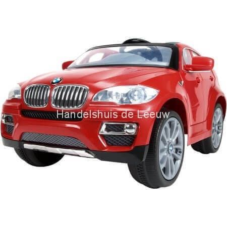 elektrische kinder auto bmw x6 249 handelshuis de leeuw elektrisch speelgoed voertuigen. Black Bedroom Furniture Sets. Home Design Ideas